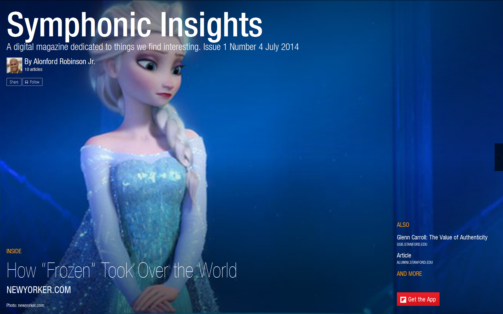 Symphonic Insights (July 2014)